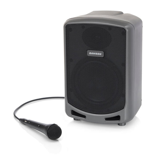 "Samson Expedition Express - Rechargeable 100W Portable 6"" PA Speaker w/ Bluetooth® Audio PA Speaker by Samson - Gsus4"