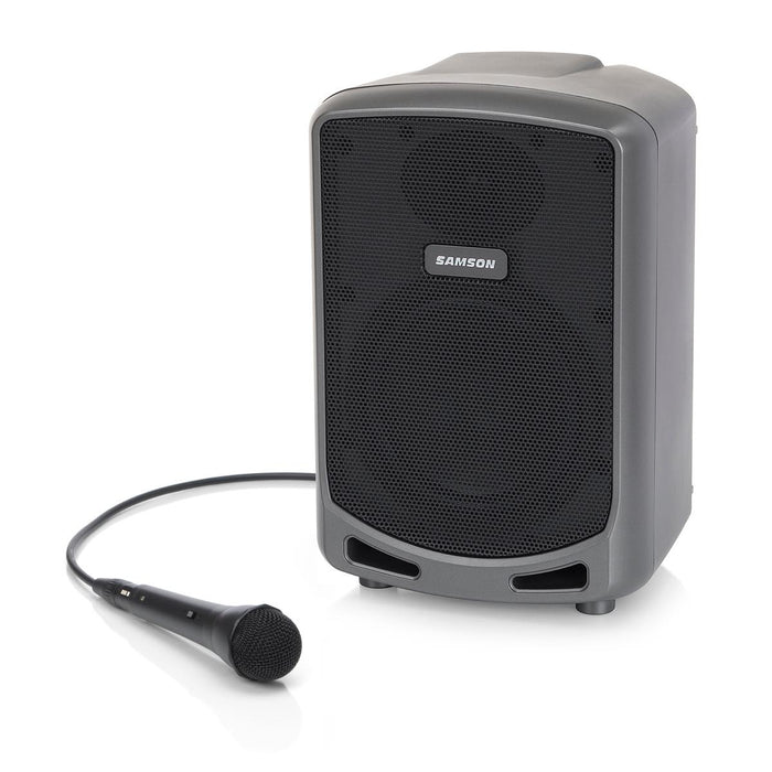 "Samson Expedition Express - Rechargeable 100W Portable 6"" PA Speaker w/ Bluetooth® Audio - Gsus4"