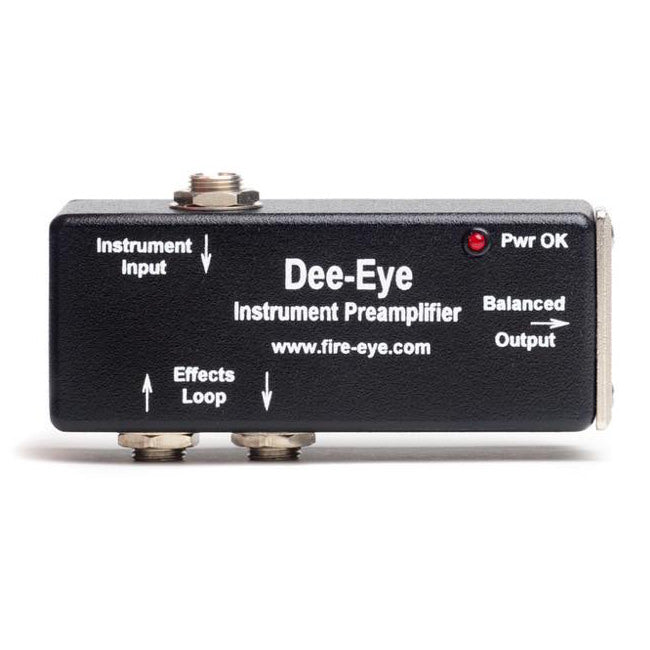 Dee-Eye™ | Active & Passive Preamp DI Box w/ Effects Loop - Gsus4