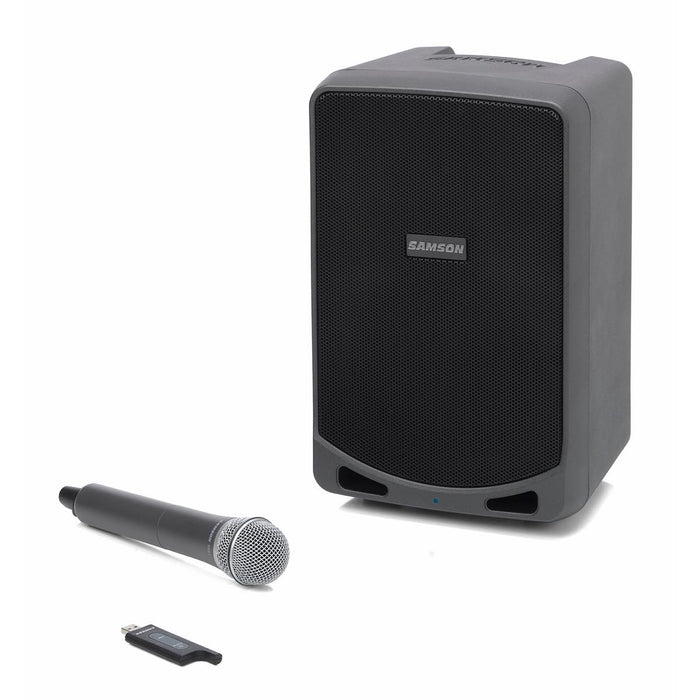 "Samson Expedition XP106 - Rechargeable 100W Portable 6"" PA Speaker w/ Bluetooth® Audio & Wireless System (Optional) - Gsus4"