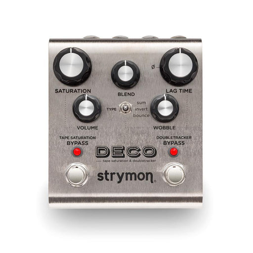 Strymon | Deco | Tape Saturation and Doubletracker Delay Pedal