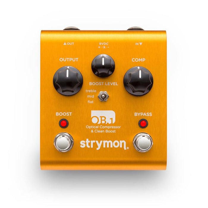 Strymon | OB.1 | Optical Compressor & Clean Boost Pedal - Gsus4