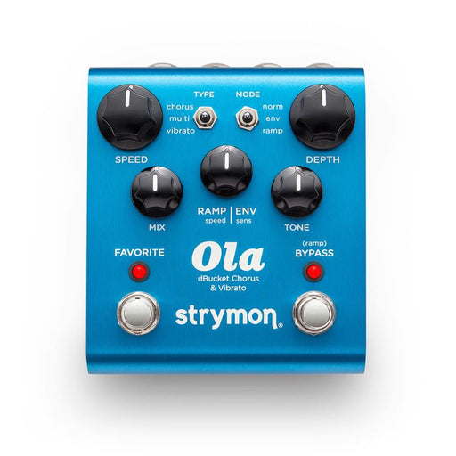 Strymon | Ola | dBucket Chorus and Vibrato Pedal - Gsus4