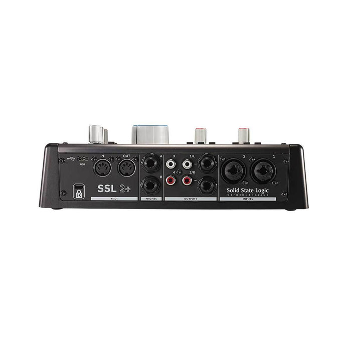 Solid State Logic | SSL 2+ | w/ Legacy 4K | 2 In 4 Out USB Audio Interface