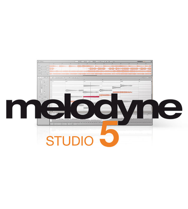 Celemony | Melodyne 5 STUDIO | Complete Polyphonic Pitch and Time Editing | Perpetual FULL Version