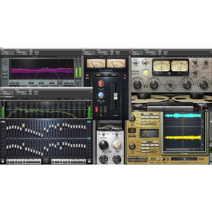 Waves | Mercury Plug-In Bundle | Over 165 Stellar Audio Plugins - Gsus4