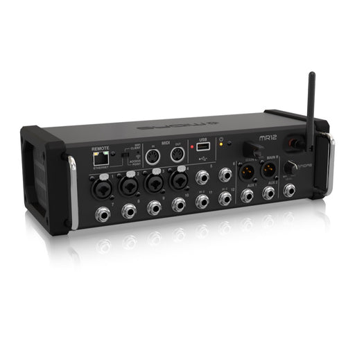 MIDAS MR12 | Portable Digital Mixer w/ Wireless iOS & Android Control - Gsus4