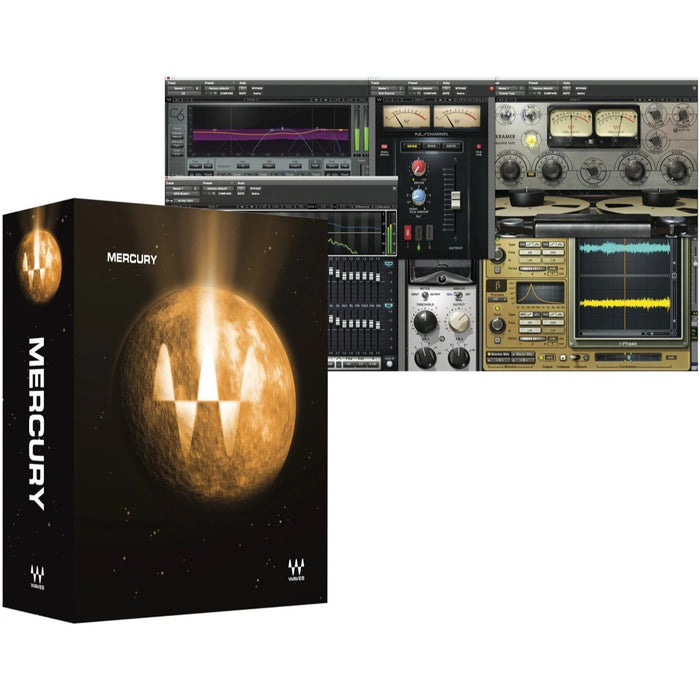 Waves | Mercury Plug-In Bundle | Over 165 Stellar Audio Plugins
