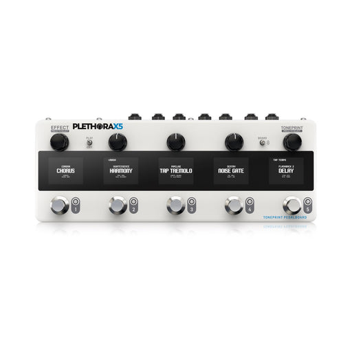 TC Electronic | PLETHORA X5 | TonePrint Multi Effects Pedal Board | MESH FootSwitch (PRE-ORDER)