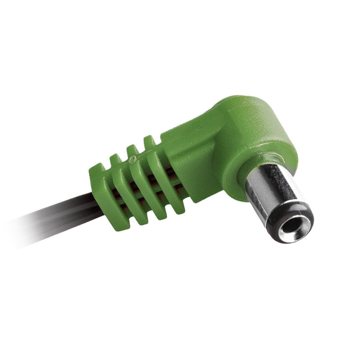 CIOKS | Flex 4 | DC CABLE Type 4 | centre positive 5,5/2,5mm plug(Green)