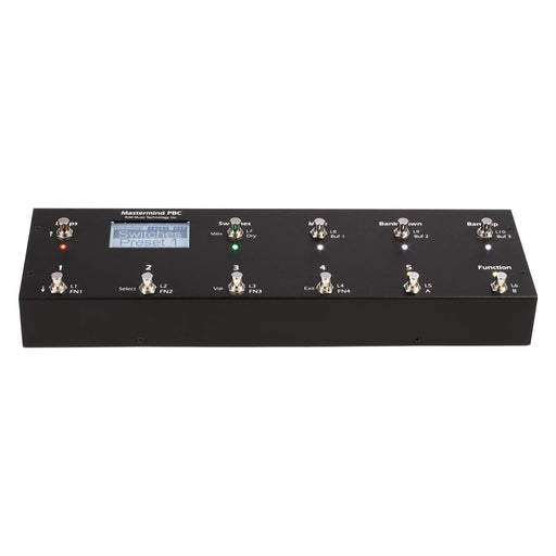 RJM | Mastermind PBC/10 | The Ultimate Pedalboard Loop Switcher - Gsus4