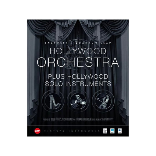EastWest | Hollywood Orchestra & Solo Instruments | Bundle | Gold Edition