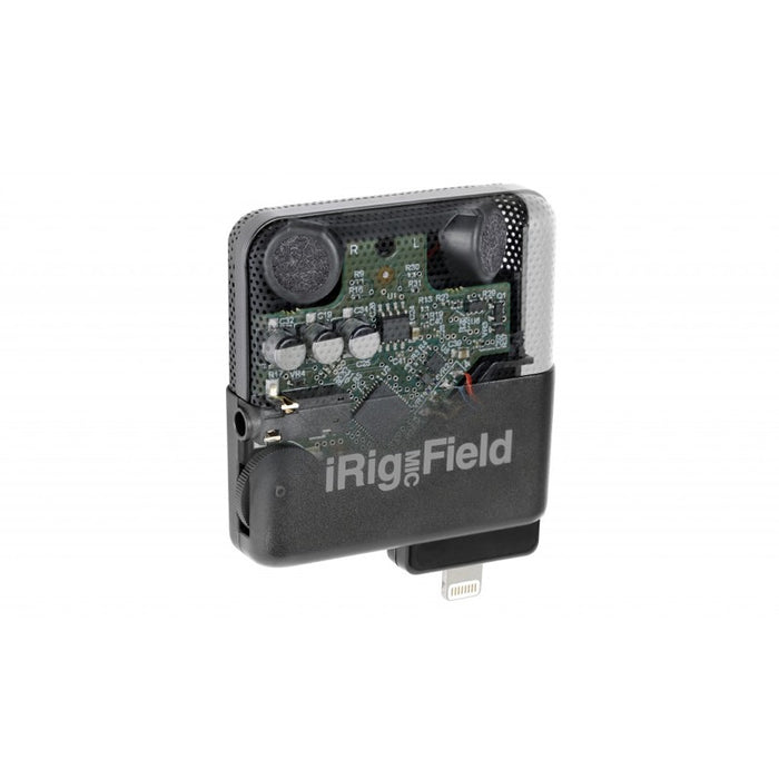 IK Multimedia | iRig Mic Field | 24bit Stereo Condenser Microphone for iOS Device - Gsus4