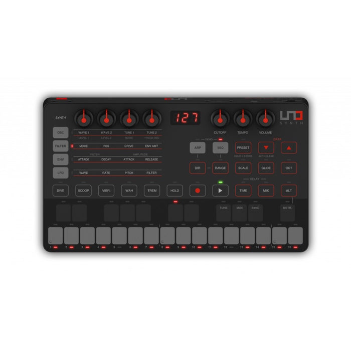 IK Multimedia | UNO Synth | Analog Desktop Synth | Powered by Sound Machines - Gsus4