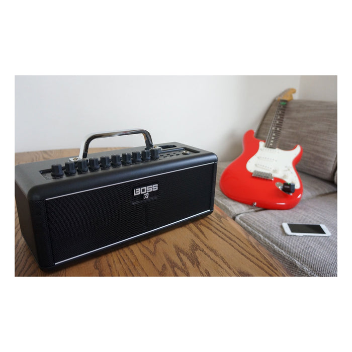 BOSS KATANA-AIR - 30W Wireless Portable Amplifier w/ Bluetooth & On-Board Effects Electric Amp by BOSS - Gsus4