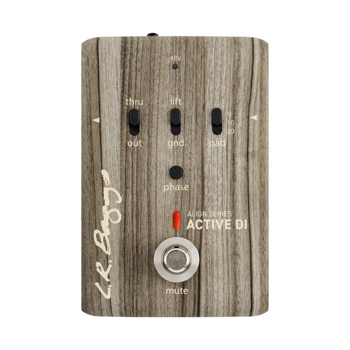 LR Baggs Align Series - ACTIVE DI - Preamp / DI / Phase / Mute Pedal by LR Baggs - Gsus4