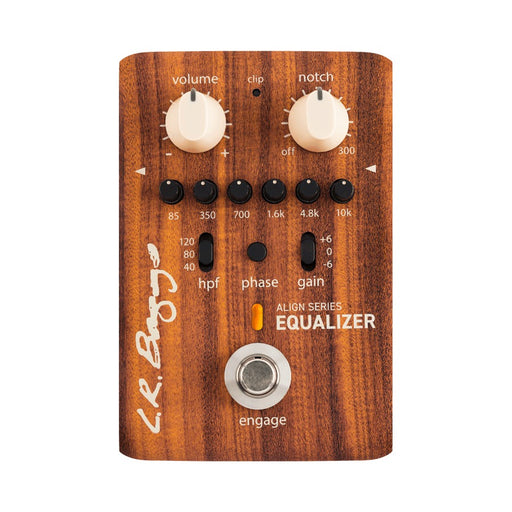 LR Baggs Align Series - EQUALIZER - 6 Band EQ / Anti-Feedback Notch Filter Pedal by LR Baggs - Gsus4