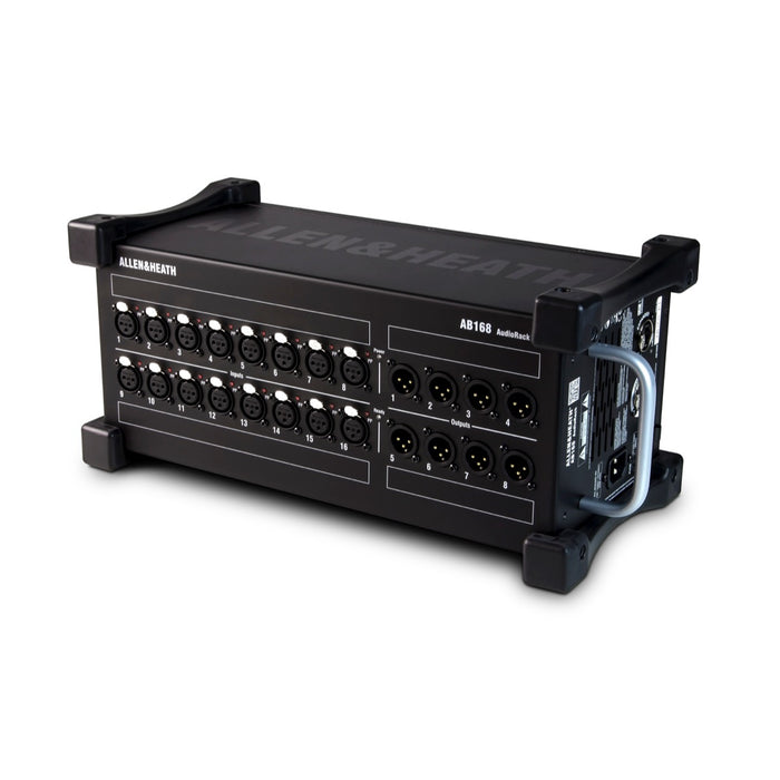 Allen & Heath | AB168 | 48kHz Digital Stage Box for SQ & QU Mixers | 16 Input & 8 Output