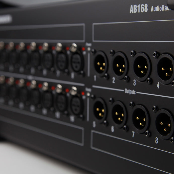 Allen & Heath | AB168 | 48kHz Digital Stage Box for SQ & QU Mixers | 16 Input & 8 Output - Gsus4