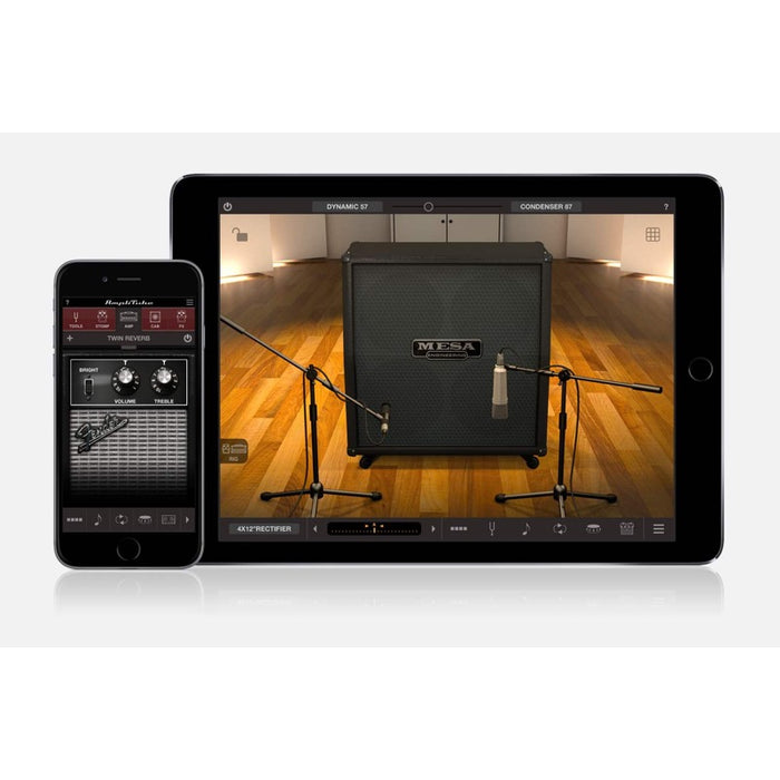 IK Multimedia | iRig Nano Amp | 3W Class A/B Power Portable Amp w/ iOS Interface | Black - Gsus4