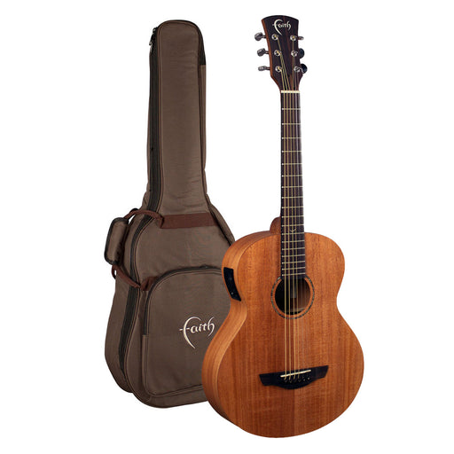 Faith Guitars | Nomad Series Mini-NEPTUNE | All Solid Acoustic | Fishman | Gigbag | FDNMG
