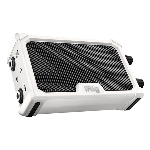 IK Multimedia | iRig Nano Amp | 3W Class A/B Power Portable Amp w/ iOS Interface | White - Gsus4