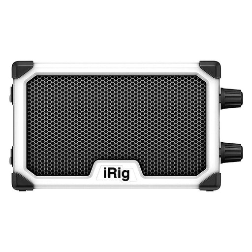 IK Multimedia | iRig Nano Amp | 3W Class A/B Power Portable Amp w/ iOS Interface | White