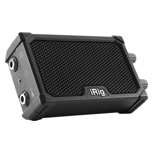 IK Multimedia | iRig Nano Amp | 3W Class A/B Power Portable Amp w/ iOS Interface | Black