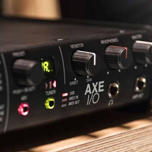 IK Multimedia | Axe I/O Interface | USB Audio Interface w/ Advanced Guitar Tone Shaping