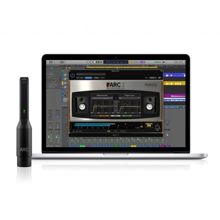 IK Multimedia | ARC System 2.5 | w/ MEMS Microphone | Advanced Room Correction System - Gsus4