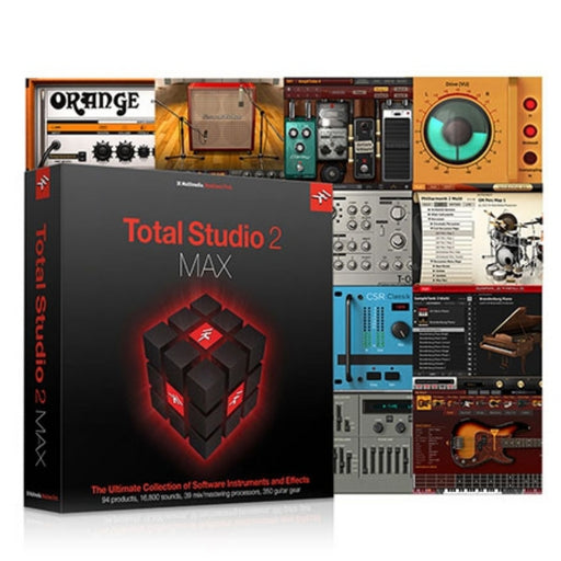 IK Multimedia | Total Studio 2 MAX | The Ultimate VI & FX Collection - Gsus4