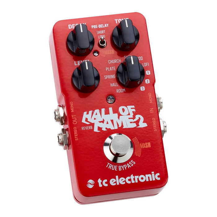 TC Electronic HALL OF FAME 2 w/ MASH Footswitch & TonePrint (HOF 2) - Gsus4