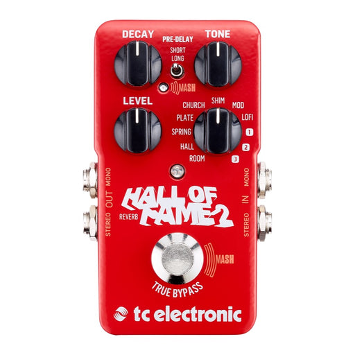 TC Electronic HALL OF FAME 2 w/ MASH Footswitch & TonePrint (HOF 2)