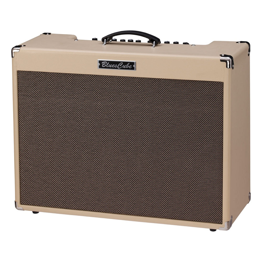 "Roland Blues Cube Artist 212 85W 2x12"" Combo Amp - Blonde Electric Amp by Roland - Gsus4"
