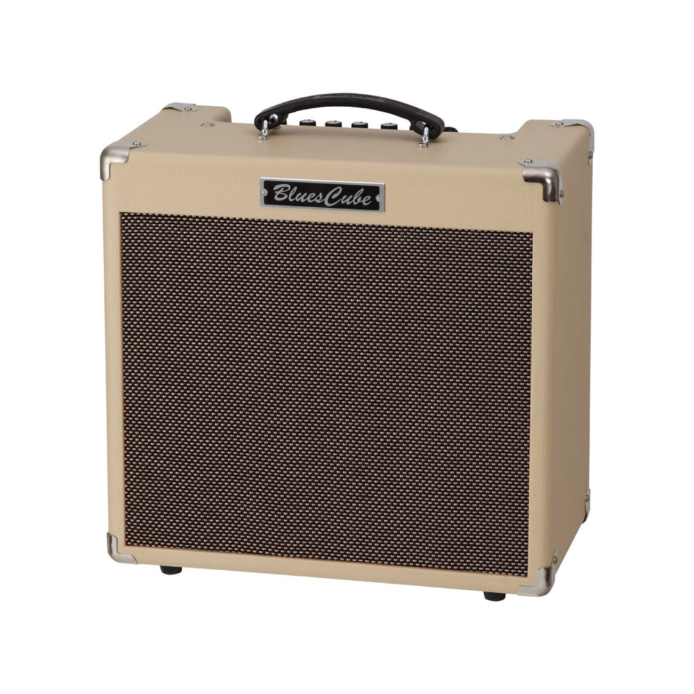 "Roland Blues Cube Hot 30W 1x12"" Combo Amp - Blonde/Black Electric Amp by Roland - Gsus4"