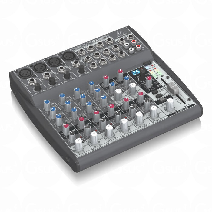 Behringer XENYX 1202FX | 12-Input 2-Bus Mixer w/ XENYX Mic Preamps Live Mixer by Behringer - Gsus4