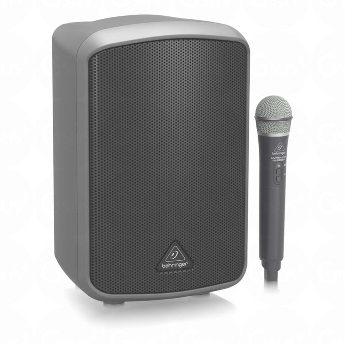 Behringer MPA100BT Portable PA Battery Powered 100W Speaker w/ Wireless Microphone & Bluetooth Connection PA Speaker by Behringer - Gsus4