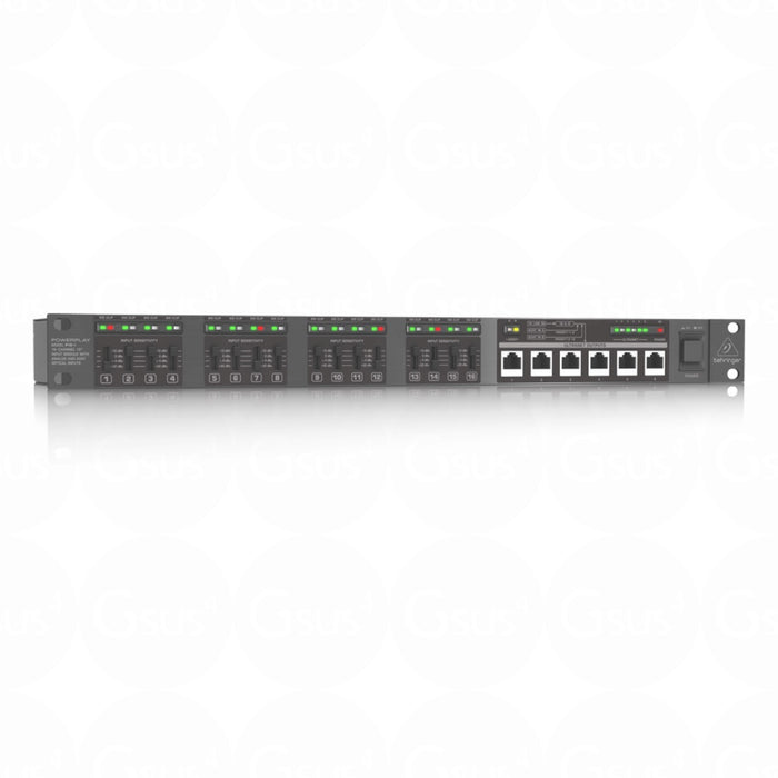 "Behringer Powerplay P16-I 16Ch 19"" Input Module with Analog and ADAT Optical input - Gsus4"