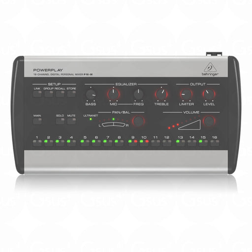 Behringer Powerplay P16-M 16Ch Digital Persoanl Monitoring Mixer - Gsus4