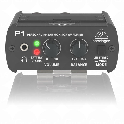 Behringer Powerplay P1 Personal In-Ear Monitor Active Amplifier In-Ear Monitor by Behringer - Gsus4
