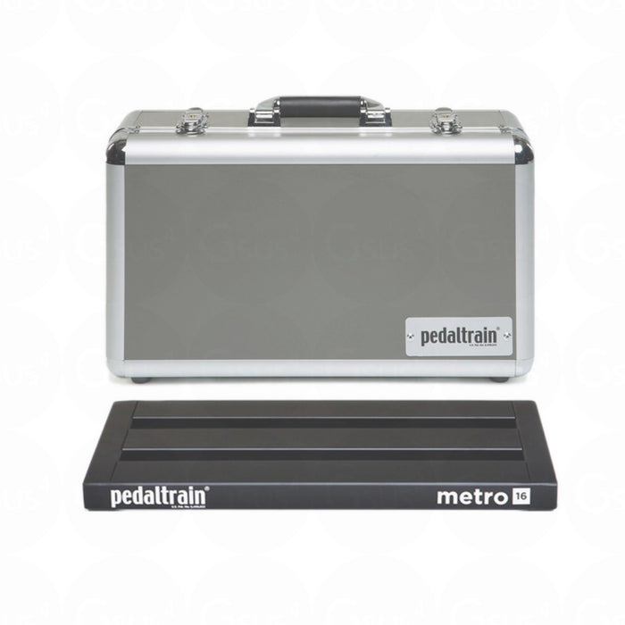 Pedaltrain Metro 16 w/ Heavy Duty Soft Case or Tour Case or Hard Case Pedalboard by Pedaltrain - Gsus4