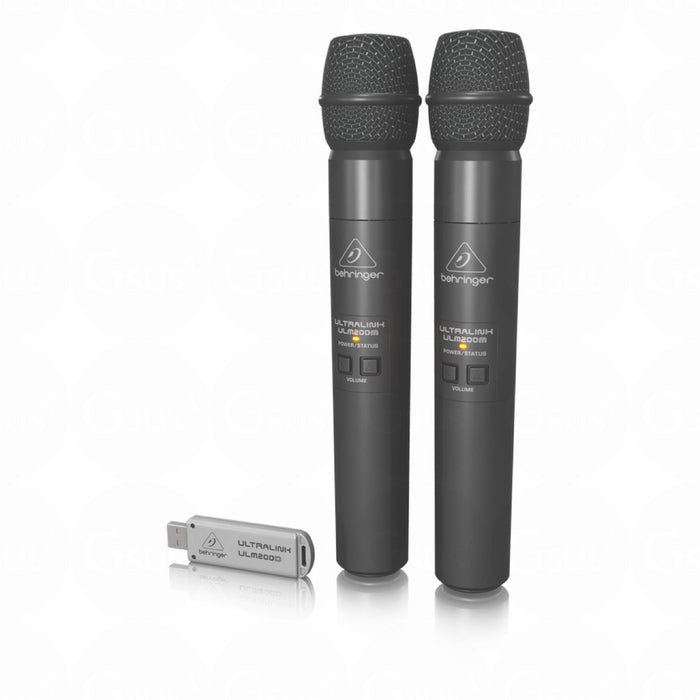 Behringer Ultrilink ULM202USB Dual Wireless Microphone System - Gsus4