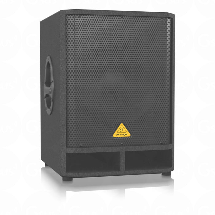 "Behringer Eurolive VQ1500D Active 500W 15"" PA Subwoofer w/ Built-in Stereo Crossover - Gsus4"