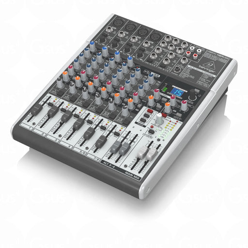 Behringer XENYX X1204USB | 12-Input 2/2-Bus Mixer w/ XENYX Mic Preamps Live Mixer by Behringer - Gsus4