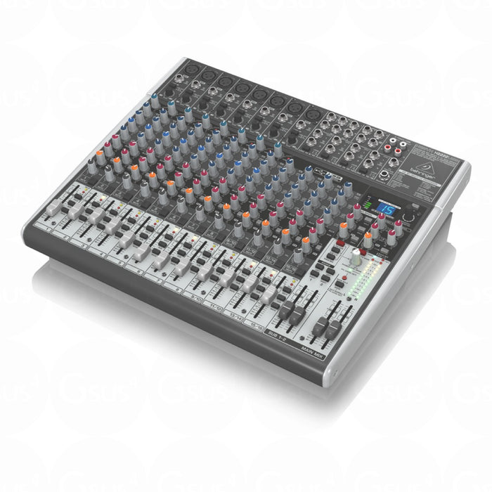 Behringer XENYX X2222USB | 22-Input 2-Bus Mixer w/ XENYX Mic Preamps - Gsus4