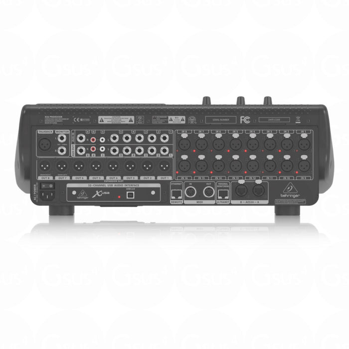 Behringer X32 Producer | 40-Input 25-Bus Digital Mixing Console - Gsus4