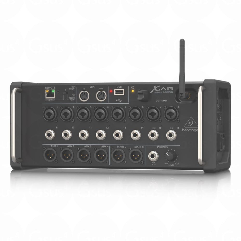Behringer X Air XR16 | 16-Input Digital Mixer for iOS/Android Live Mixer by Behringer - Gsus4