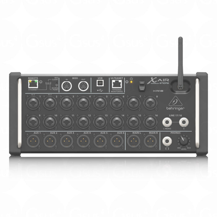 Behringer X Air XR18 | 18-Input Digital Mixer for iOS/Android - Gsus4