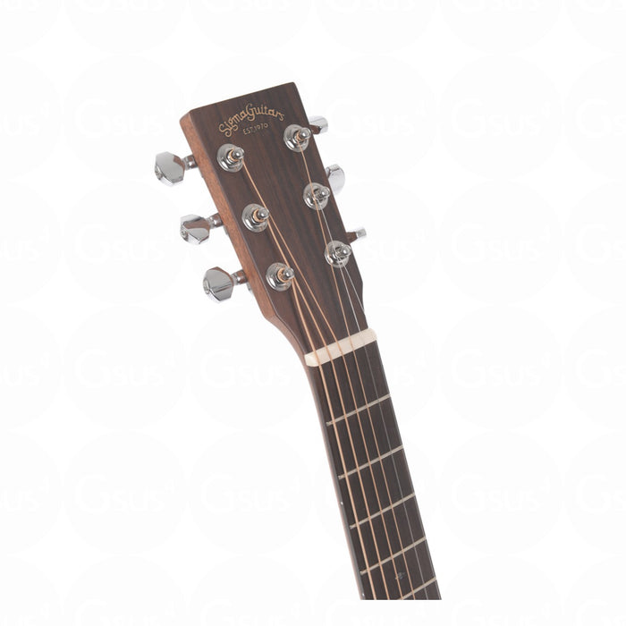 Sigma TM-15E Travel Guitar Series - Acoustic Electric w/GigBag Acoustic Guitar by Sigma - Gsus4