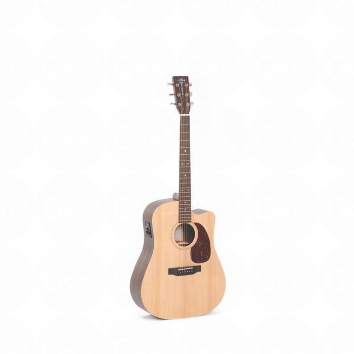 Sigma DRCE SE Series - Acoustic Electric Natural Acoustic Guitar by Sigma - Gsus4